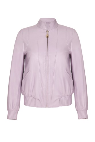 Pritch London Bomber in Lilac £700 www.pritchlondon.com